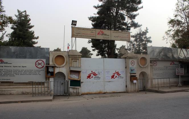 L'hôpital de Médecins sans frontières, à Kunduz, en Afghanistan, le 11 octobre, une semaine après avoir été bombardé par les Etats-Unis.