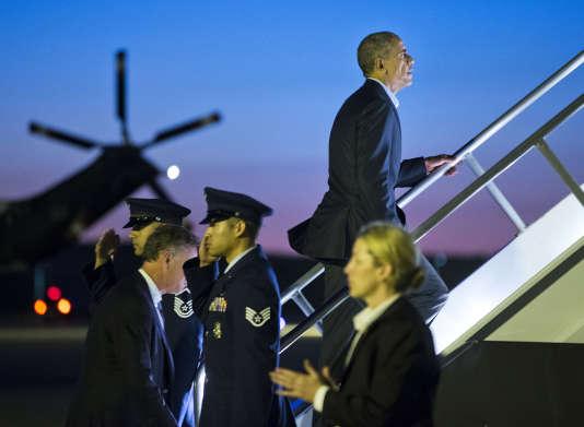 """""""Vous savez, c'est le typique bon acteur de la télé-réalité"""", dit le président Obama, qui n'est pas surpris de l'attention dont a bénéficié Trump jusqu'à présent."""