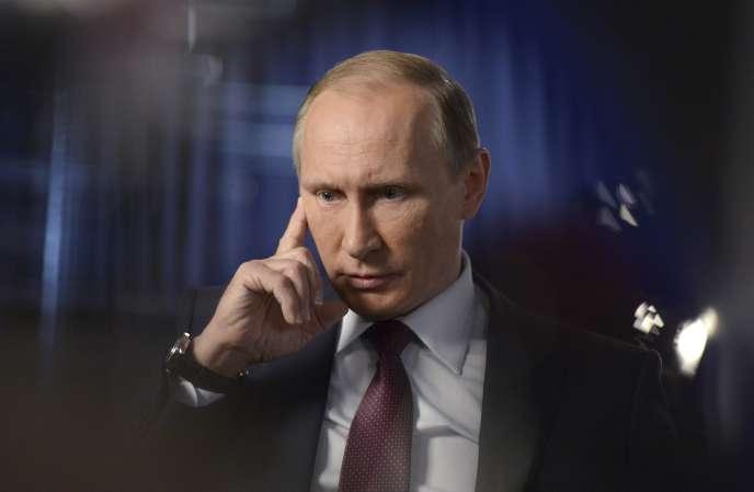 Le président russe Vladimir Poutine, le 10 octobre