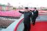 Kim Jong-un à Pyongyang lors de la cérémonie marquant le 70e anniversaire de la création du Parti des travailleurs le 10 octobre.
