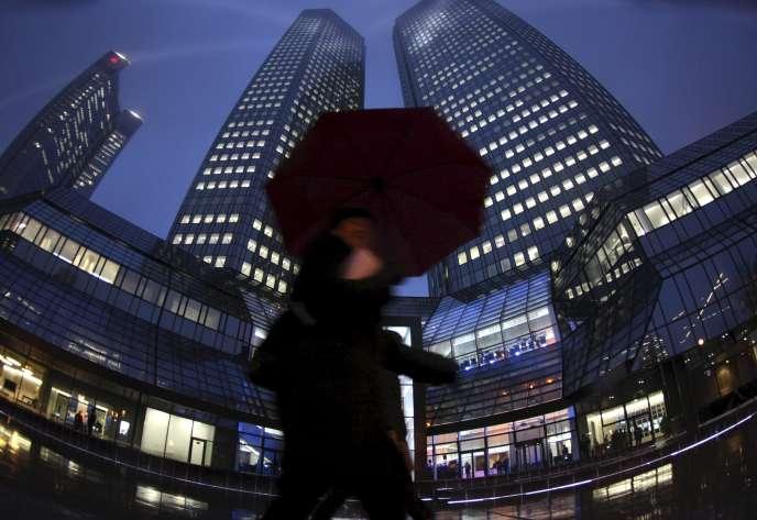 La Deutsch Bank n'a provisionné que 5,5 milliards d'euros pour risques judiciaires, et elle est impliquée dans de nombreux litiges.