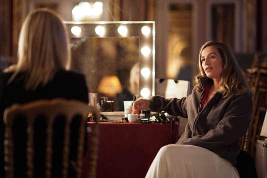 """Cecile De France joue son propre rôle dans ce premier épisode de""""Dix pour cent""""."""