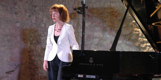 Anne Queffélec aux Journées Ravel, le 10 octobre 2015.