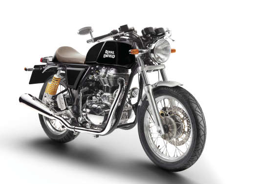 La Continental GT de Royal Enfield.