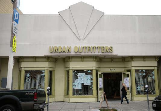 Un magasin de la chaîne Urban Outfitters en Californie.