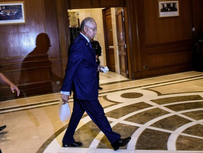 Le premier ministre malaisien, Najib Razak, le 14 septembre à Putrajaya, la capitale administrative du pays