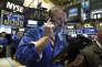 Un trader du New York Stock Exchange, le 13 octobre.