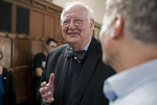 Angus Deaton, à Princeton dans le New Jersey, aux Etats-Unis, le 12 octobre 2015.