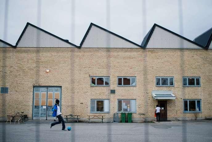 Au centre pour réfugiés de Sundyberg (Suède), en octobre 2015.