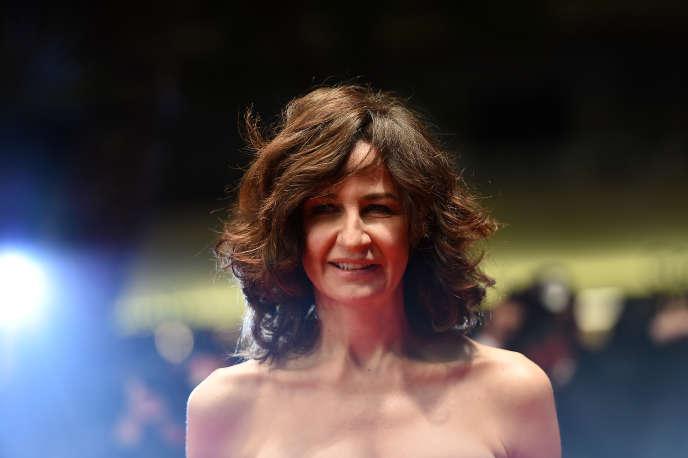 Valérie Lemercier à Cannes, le 19 mai 2015.