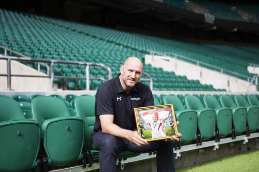 Lawrence Dallaglio à Twickenham fin août.