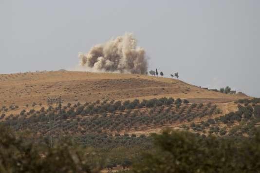 Soutenues par la Russie, les forces pro-Assad tentent de reprendre le contrôle de ce que le pouvoir considère comme la « Syrie essentielle ».