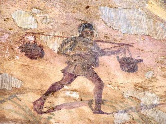 Leptis Magna, Thermes de la chasse.