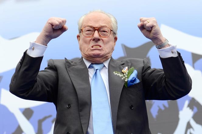 Jean-Marie Le Pen, le 1er mai 2013.