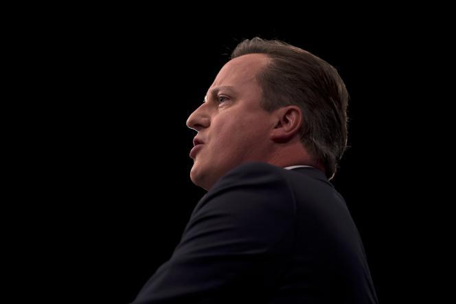 Le Premier ministre britannique David Cameron au congrès annuel du parti conservateur, à Manchester, le 7 octobre 2015.
