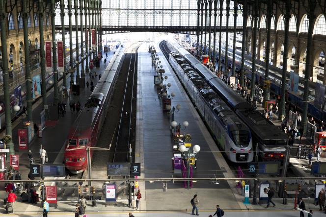 La Gare du Nord, à Paris, en octobre 2015.