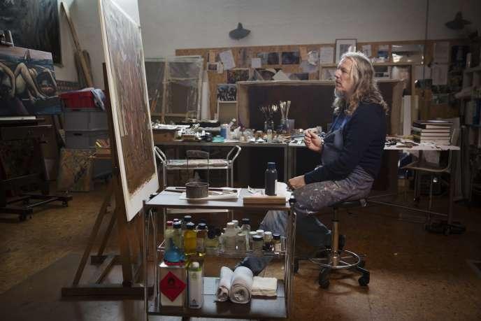 L'Allemand Wolfgang Beltracchi, ici en 2014, produisait notamment de faux Max Ernst. L'un d'eux a été exposé au Metropolitan Museum deNew York.