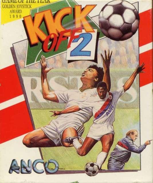 """La jaquette de """"Kick off 2""""."""