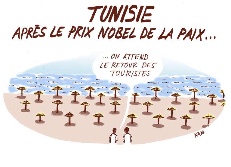 Après le Nobel, la Tunisie attend maintenant le retour des touristes sur ses plages.
