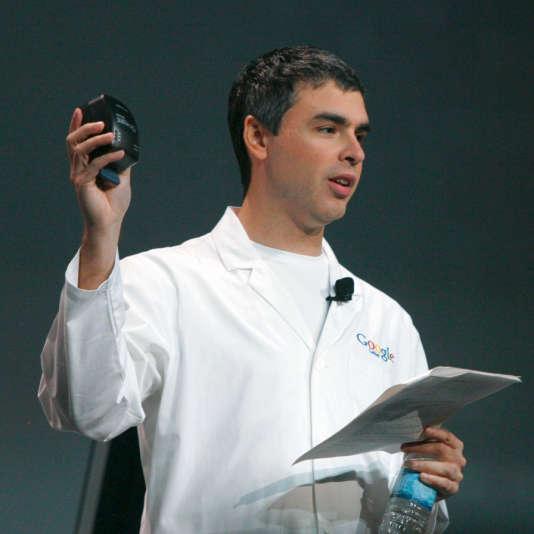 Larry Page, cofondateur de Google, ici en 2006.