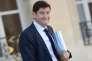Patrick Kanner, ministre de la ville, de la jeunesse et des sports, chargé de la vie associative, devant l'Elysée, le 30 septembre.