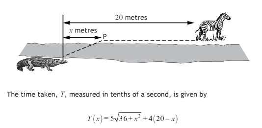 Schéma du problème de mathématiques n°8 posé aux lycéens écossais en mai 2015.