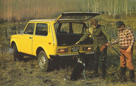 La Lada Niva, devenue Lada 4x4, est prisée des chasseurs.