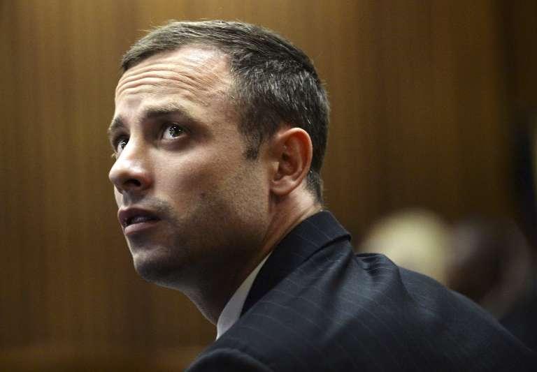 L'athlète paralympique sud-africain Oscar Pistorius lors de son jugement à Pretoria en Afrique du Sud le 4 mars 2014.