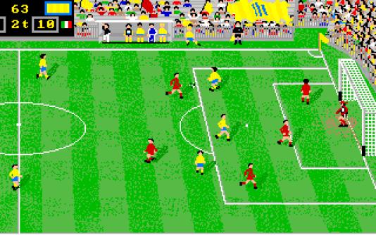 Les frères Dardari, entre 1988 et 1990, ont développé deux simulations de football remarquées sur Amiga.