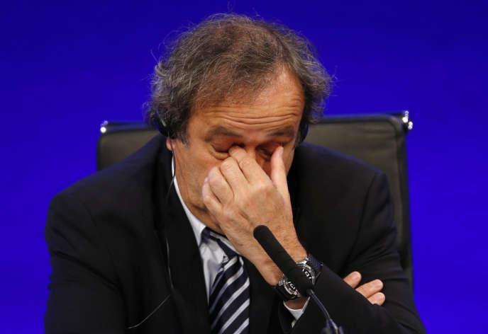 Michel Platini en 2013.