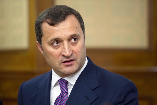 Vladimir Filat (ici en septembre 2011), ancien premier ministre de la Moldavie entre 2009 et 2013.