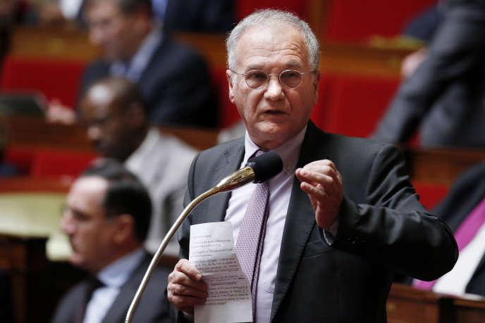 Le député LR Gilles Carrez, le 22janvier 2014.