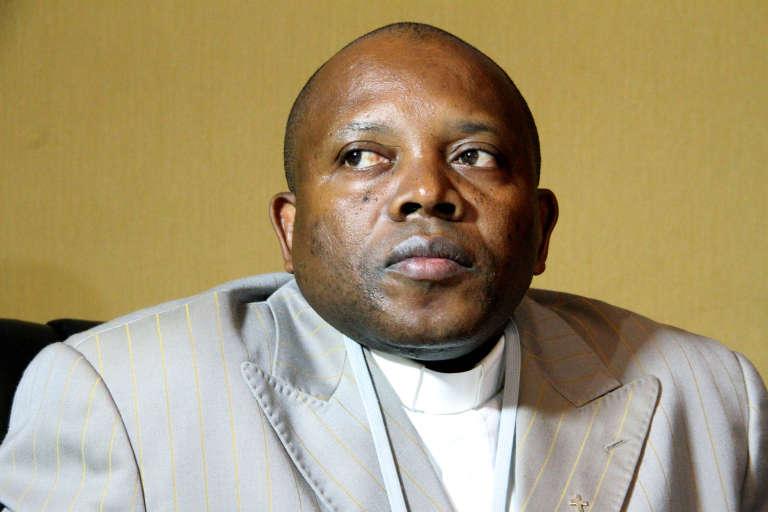 Apollinaire Malu-Malu, président démissionnaire de la Commission électorale nationale indépendante (Céni).