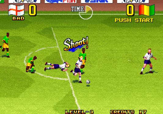 Entre 1992 et 1995, Super Sidekicks, en arcade et sur Neo Geo, a porté le jeu de football en 2D à des niveaux visuels jamais vus.