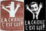 """Exemples de détournements dont ont fait les frais Charles de Gaulle et Nicolas Sarkozy après avoir utilisé le mot """"chienlit""""."""