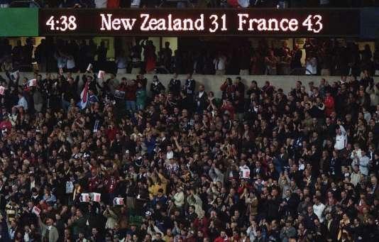L'inoubliable score de la demi-finale de 1999.