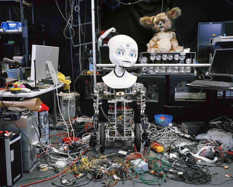 « Au printemps 2007, un magazine français m'a demandé de réfléchir à une série d'images sur l'évolution de la société japonaise, explique Yves Gellie. La ville d'Osaka venait juste de se déclarer capitale mondiale des robots humanoïdes. »