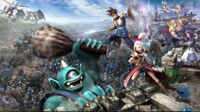Pas de quartier : pour guise d'aventure, Dragon Quest Heroes vous propose d'occire des créatures fantastiques à la chaîne.