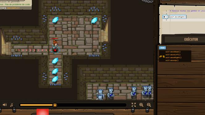 Le jeu CodeCombat, pour s'initier au code grâce au jeu vidéo