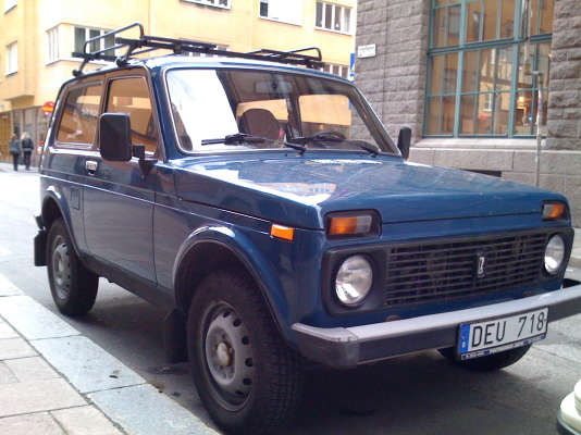 Lancée sous Brejnev, la Lada Niva résiste au temps. Même Vladimir Poutine en possède une.
