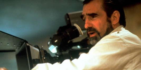 """Le réalisateur Martin Scorsese """"Les Affranchis"""" (1990)."""