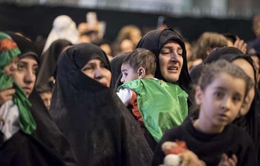 Les chiites, majoritaires en Iran, célèbrent le deuil de l'Achoura qui marque l'anniversaire du martyr de l'imam Hussein, le troisième successeur du prophète, vénéré par les musulmans chiites.