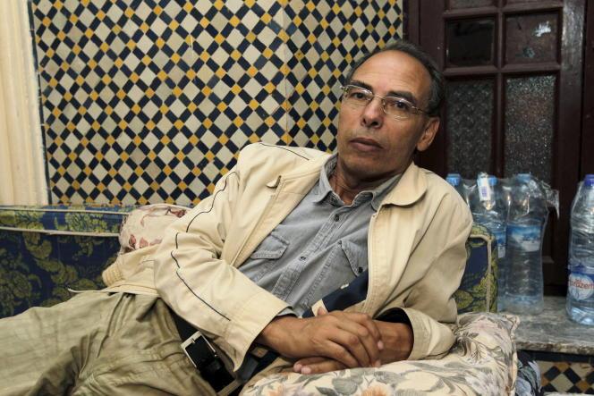 Maati Monjib le 14 octobre 2015 à Rabat.