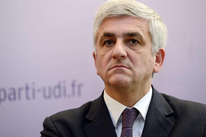 Hervé Morin, président du Nouveau centre, en mai 2013.