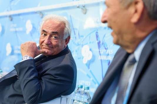 Dominique Strauss-Kahn en Ukraine, le 11 septembre.