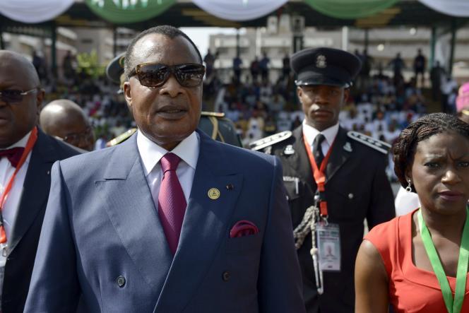 Denis Sassou-Nguesso, le 29 mai à Abuja.