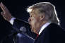 Le candidat à l'investiture républicaine lors d'un rassemblement à Tyngsborough dans le Massachusetts, le 16 octobre.