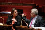 Valérie Rabault, rapporteure générale du budget, et Christian Eckert, secrétaire d'Etat au budget, à l'Assemblée nationale le 16 octobre.