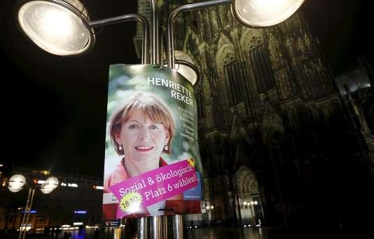 Henriette Reker a été élue maire de Cologne le 18 octobre.