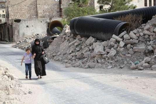 A Alep, le 18 octobre.